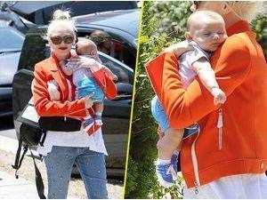 Photos : Gwen Stefani : son petit dernier est à croquer !