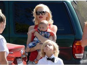 Photos : Gwen Stefani : une maman gaga de ses boys à Beverly Hills !