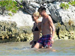 Photos : Heidi Klum : c'est l'amour à la plage avec Vito Schnabel !