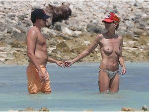 Photos : Heidi Klum : topless pour ses vacances romantiques avec Vito Schnabel !