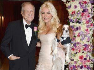 Photos : Hugh Hefner : découvrez les photos de son mariage avec sa jeune épouse !