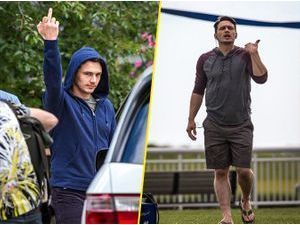 Photos : James Franco : les photographes, il en a ras la capuche !