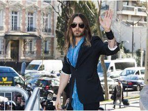 Photos : Jared Leto : entre défilé et salon de thé, l'Oscarisé prend du bon temps à Paris !