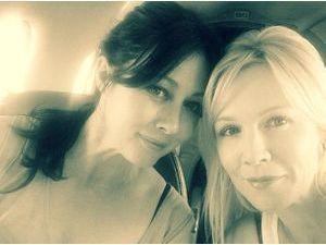 Photos : Jennie Garth et Shannen Doherty : ce qui se passe à Vegas ne reste pas à Vegas !
