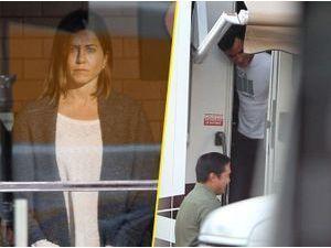 Photos : Jennifer Aniston : en plein tournage de son nouveau film, elle peut compter sur le soutien de son fiancé Justin Theroux !