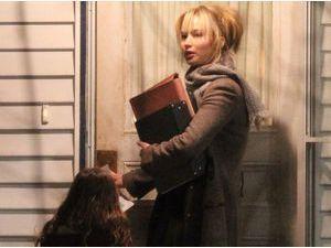 Photos : Jennifer Lawrence : elle ne se ménage sur le tournage de son nouveau film !