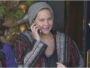 Photos : Jennifer Lawrence : la star d'Hunger Games au naturel, ça donne ça !