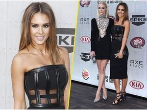 Photos : Jessica Alba et Jaime King : duo envoûtant pour les Guys Choice Awards !