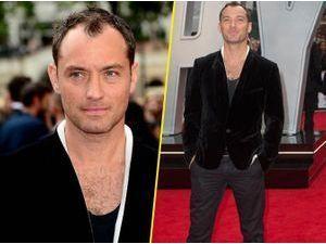 Photos : Jude Law toujours aussi beau-gosse pour son retour au cinéma !