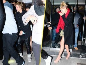 Photos : Justin Bieber et Hailey Baldwin : surpris ensemble à la sortie d'un club !