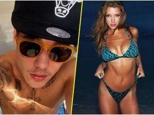 Photos : Justin Bieber : son nouveau flirt, une playmate aux sacrés arguments !