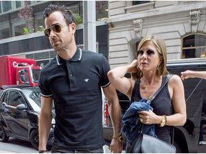 Photos : Justin Theroux et Jennifer Aniston : après le tapis rouge, ils s'octroient une pause shopping !