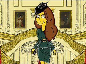 Photos : Kate Middleton : elle détonne en version Simpson !