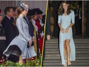 Photos : Kate Middleton : instant Marilyn, baby bump et robe de soirée, elle est bien de retour !