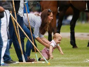 Photos : Kate Middleton : un maman poule qui se met en quatre pour son petit George !