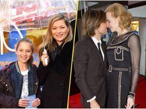 Photos : Kate Moss en famille, Nicole Kidman in love pour la première de Paddington !