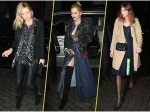 Photos : Kate Moss, Rita Ora, Alexa Chung… Quand l'élégance et le débraillé s'affrontent !