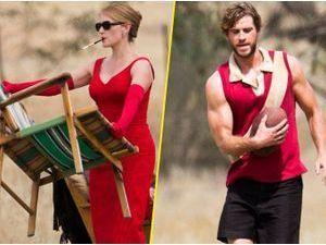 Photos : Kate Winslet : aux premières loges pour admirer les beaux bras musclés de Liam Hemsworth !