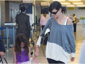 Photos : Katie Holmes : un retour à New York complice et attendrissant avec sa fille chérie Suri !
