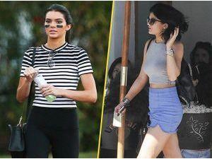 Photos : Kendall et Kylie Jenner : deux soeurs branchées à L.A. !