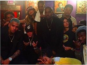 Kendall Jenner, Kanye West, Chris Brown, Justin Bieber : tous réunis pour Big Sean !