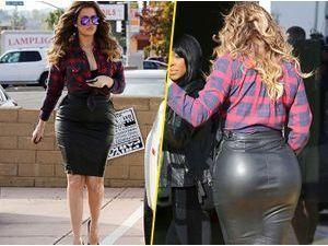 Photos : Khloe Kardashian : Kim trouve ses fesses trop grosses et lui demande de perdre du poids !