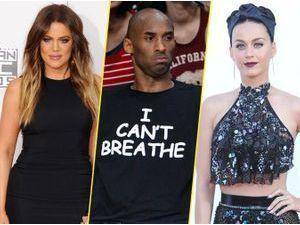 "Photos : Khloe Kardashian, Kobe Bryant, Katy Perry : ils soutiennent la révolte ""I Can't Breathe"" !"