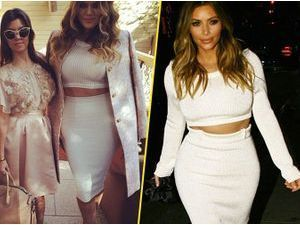 Photos : Khloé Kardashian : question look, elle copie Kim !