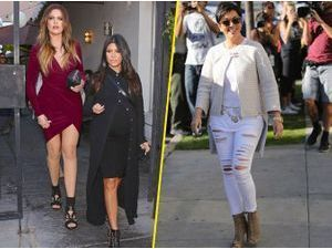 Photos : Khloe Kardashian : trop sexy pour Kourtney et Kris Jenner !