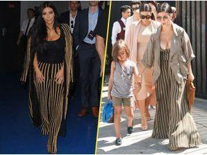 Photos : Kim VS Kourtney Kardashian : qui est la meilleure reine des abeilles ?