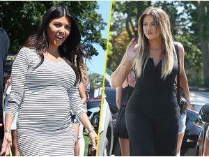 Photos : Kourtney et Khloé Kardashian : nouvelle virée enjouée dans les Hamptons !