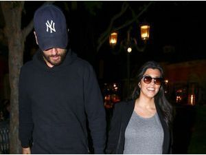 Photos : Kourtney Kardashian : amoureuse de Scott Disick elle dévoile une nouvelle photo de Reign Aston !