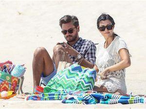 Photos : Kourtney Kardashian et Scott Disick : ils emmènent leur petite tribu à la plage tandis que leur couple serait sur le point d'exploser en mille morceaux !