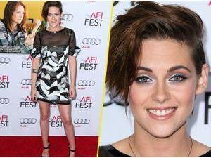 Photos : Kristen Stewart : on ne l'a jamais vu aussi souriante !