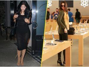 Photos : Kylie et Kendall Jenner : affolantes pour une nouvelle battle buzz !