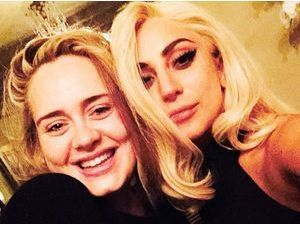 Photos : Lady Gaga : complice avec Adele, la collaboration se confirme ?