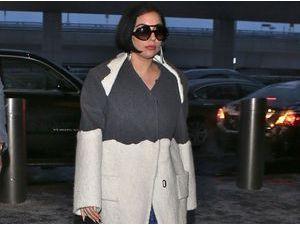 Photos : Lady Gaga : son joli caillou, elle le montre une fois et c'est tout ?