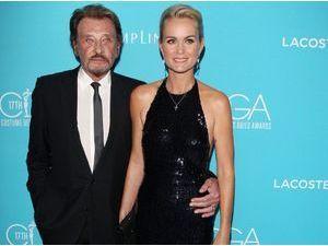 Photos : Laeticia et Johnny Hallyday : de l'amour et du glamour pour une nouvelle cérémonie hollywoodienne !