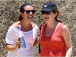 Photos : Lea Michele : virée entre filles après sa première apparition avec son gigolo !