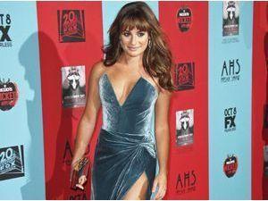 Photos : Lea Michele : sexy lady pour le lancement de la saison 4 d'American Horror Story !