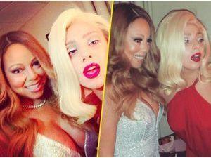 Photos : Mariah Carey et Lady Gaga : alerte, les deux divas sont réunies pour Noël !