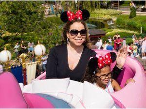 Mariah Carey, la diva en mode détente à Disneyland Paris !