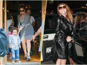 Photos : Mariah Carey : maman poule le jour, elle est bien décidée à se refaire une image la nuit tombée !