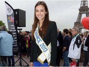 Photos : Marine Lorphelin : fière de ressortir son écharpe de Miss France pour la bonne cause !