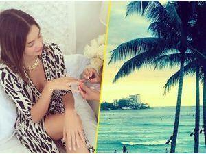 Photos : Miranda Kerr : dur dur la vie à Hawaï !