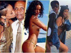 Photos : Montre-moi ton Insta, je te dirai qui tu es... Le cas de la bad girl Rihanna !