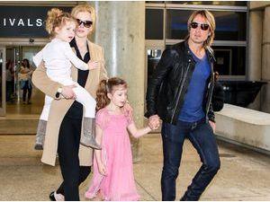 """Photos : Nicole Kidman : de retour dans la Cité des Anges après ses adieux à son père """"extraordinaire""""..."""