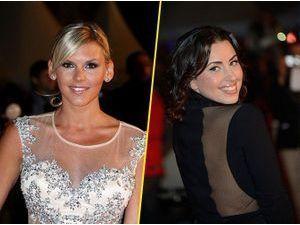 Photos : NMA 2014 : Amélie Neten et Maude : deux Anges sexy qui rivalisent d'élégance sur le tapis rouge !