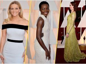 Photos : Oscars 2015 : Reese Witherspoon, Lupita Nyong'o, Emma Stone : l'art de briller sur tapis rouge, elles maitrisent !
