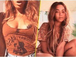 Photos : poitrine en avant et no make-up, Beyoncé joue la transparence !